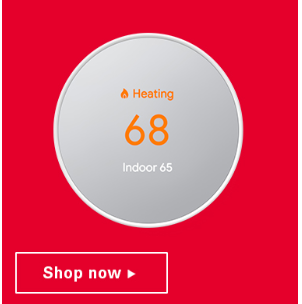 $60 Instant Rebate on the new Google Nest Thermostat!