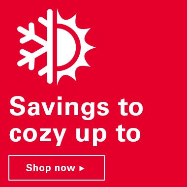 Savings to cozy up to